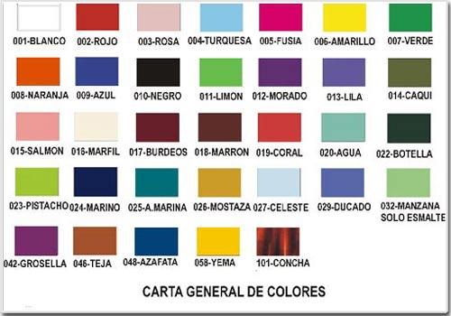 スペインの色見本